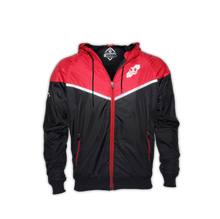 Load image into Gallery viewer, WINDBREAKER JJWL RED/BLACK