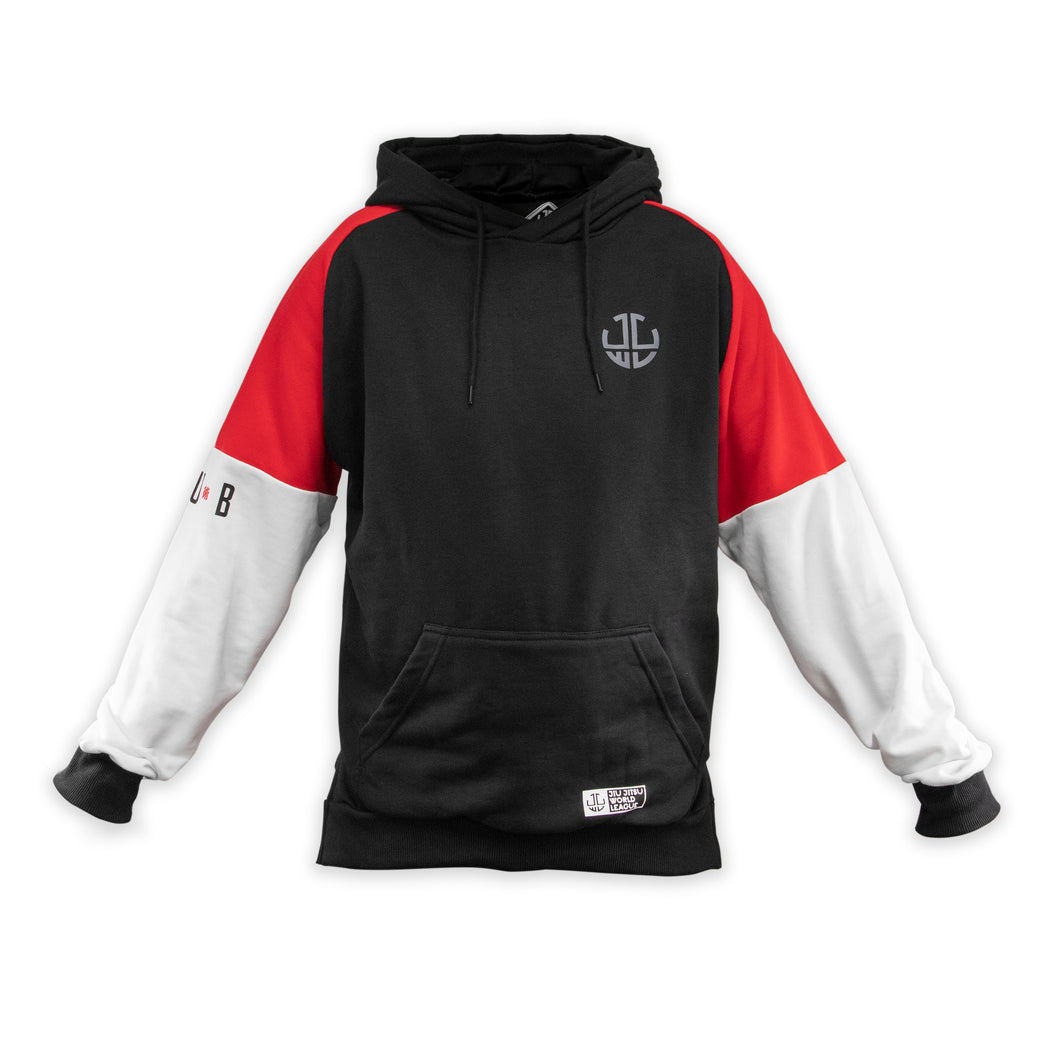 HOODIE WINTER RED/BLACK/WHITE