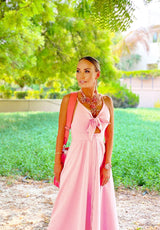 Riviera Baby Pink Dress - ANITAS