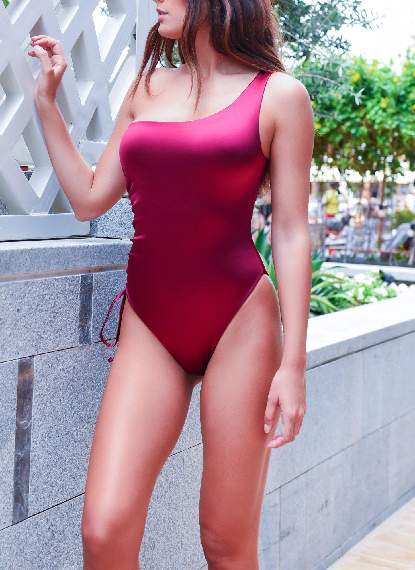 silky swimsuit - dubai design