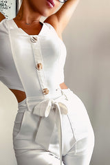 Selfmade Jumpsuit White