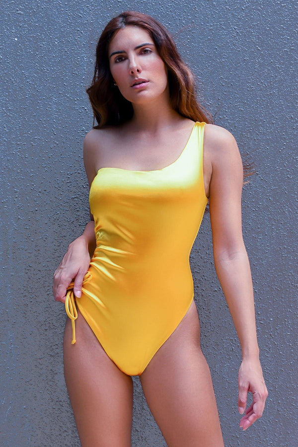 Yellow Gold Fitkini Swimsuit - ANITAS