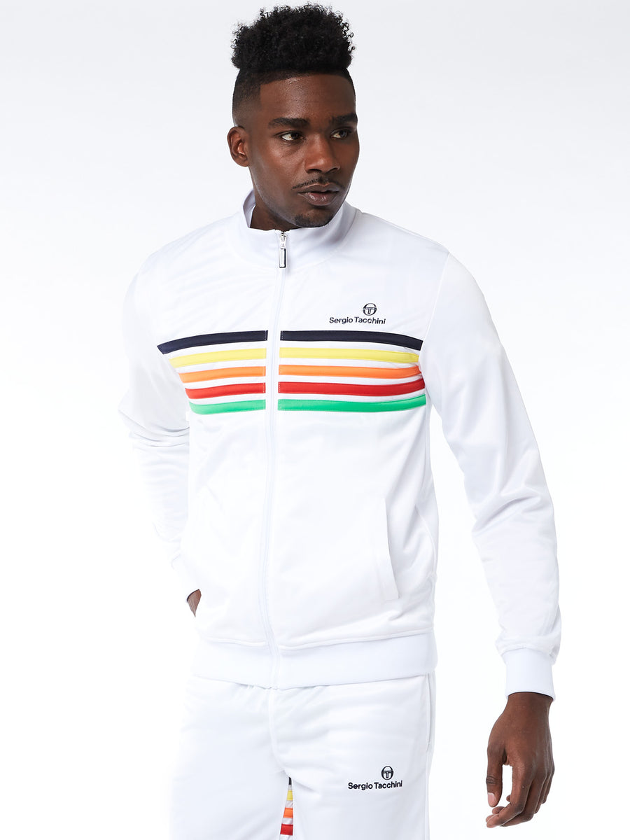 Varena Track Jacket Archivio - WHITE