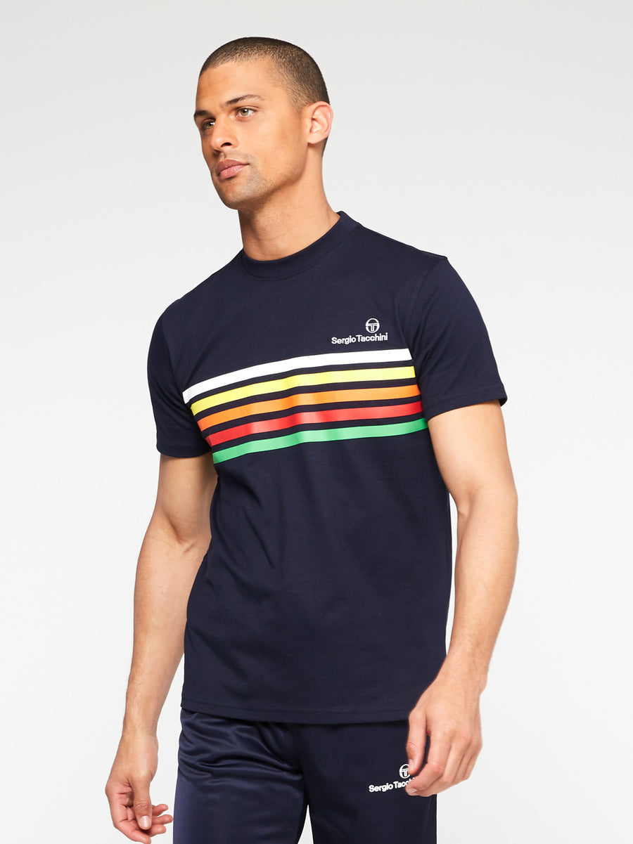 Melfi Stripe T-Shirt Archivio - NIGHT SKY