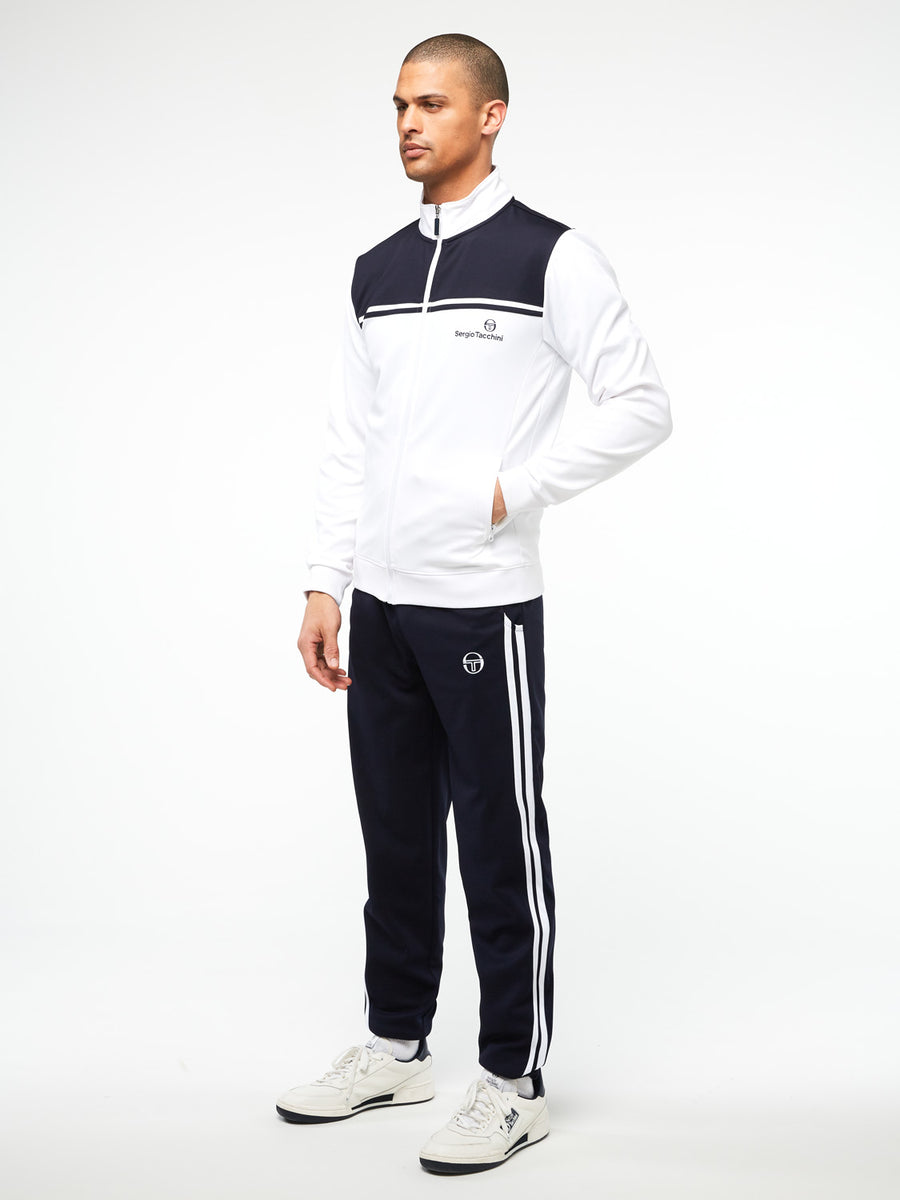 New Young Line Track Jacket Archivio - WHITE