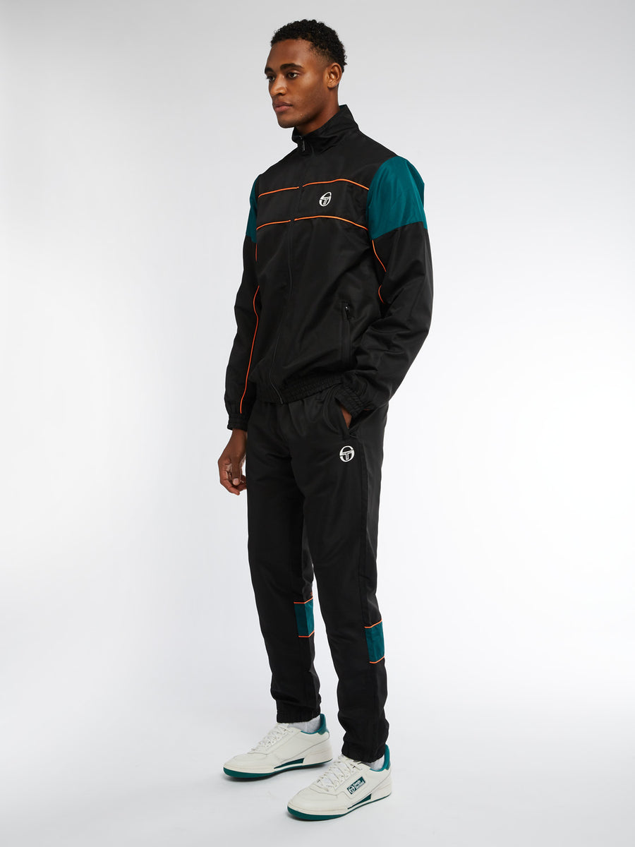 Berry Tracksuit - BLACK/BOTANICAL