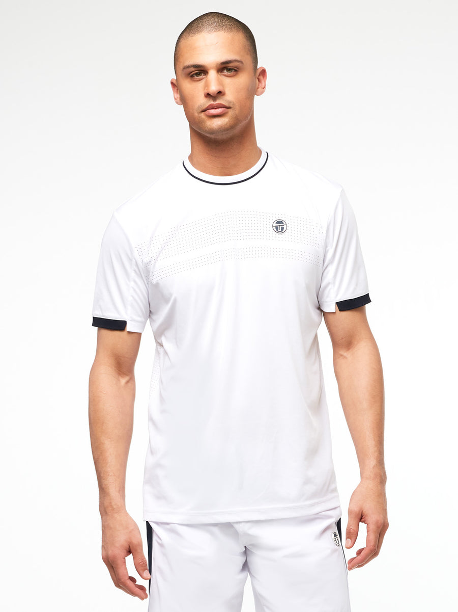 Tennis Young Line Pro T-Shirt - BLANC DE BLANC/NIGHT SKY