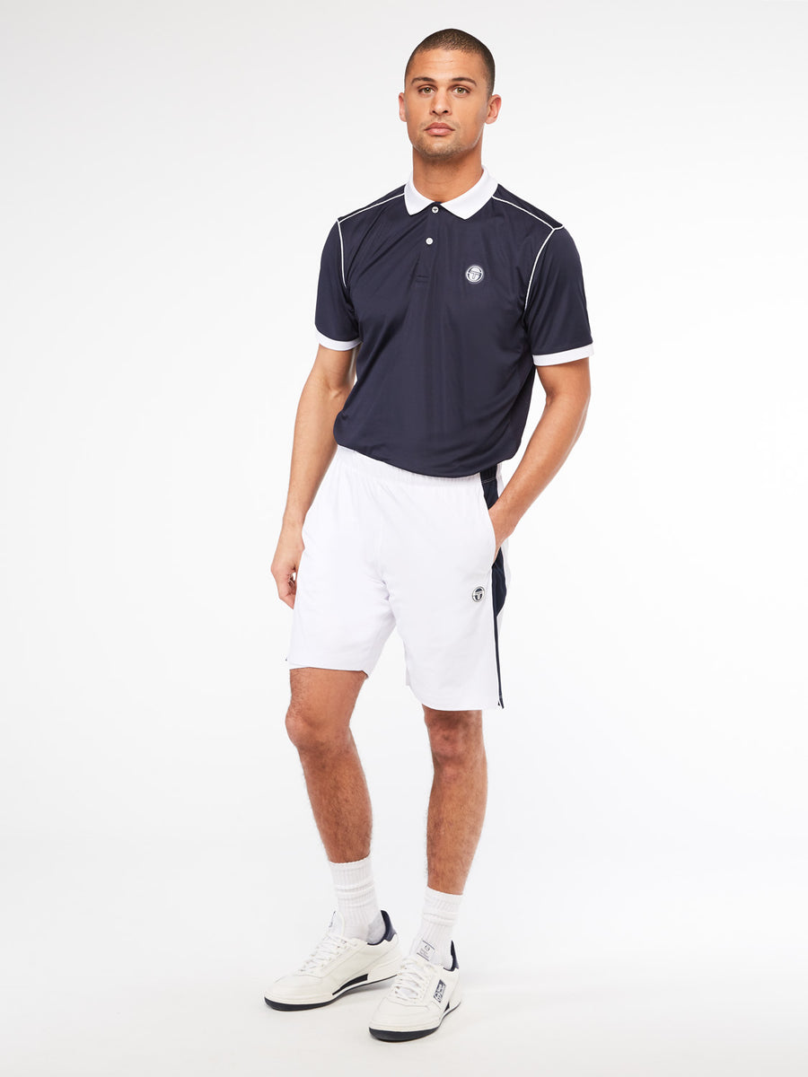 Tennis Young Line Pro Shorts - BLANC DE BLANC/NIGHT SKY