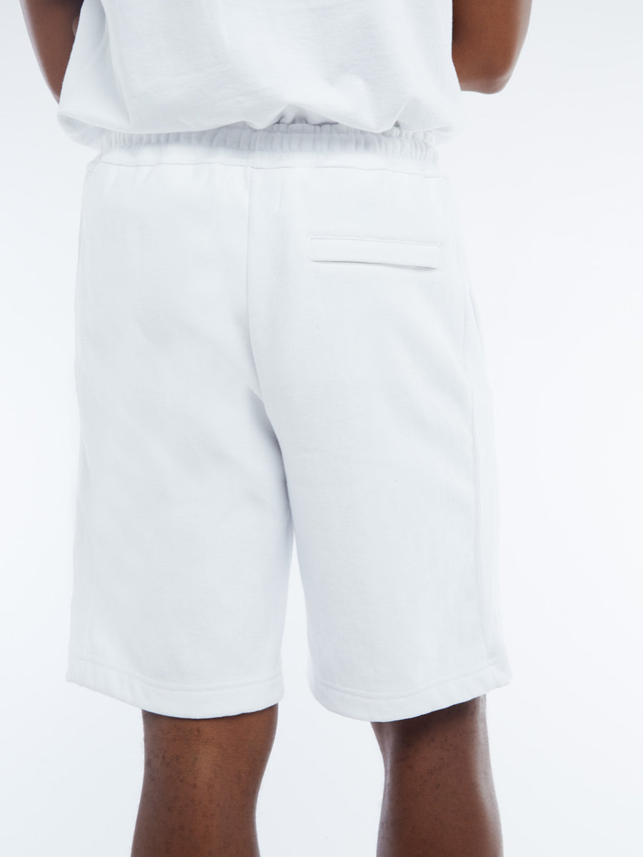 LOVE FORTY SWEATSHORTS - WHITE