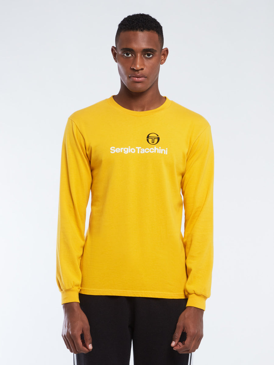 New Logo Long Sleeve Shirt - GOLD