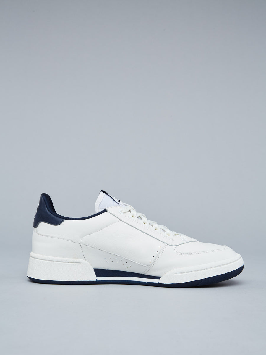 NEW YOUNG LINE SNEAKER - WHITE/NAVY