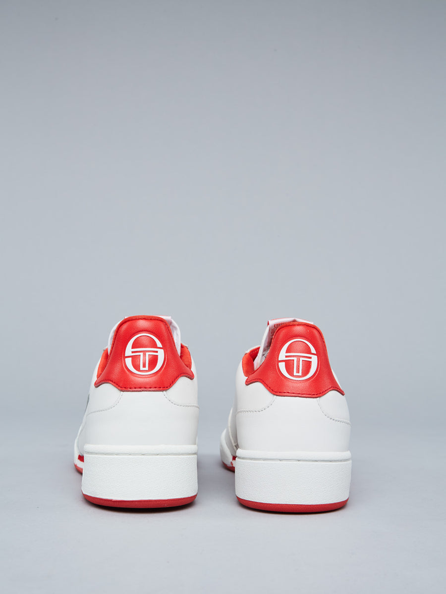 NEW YOUNG LINE SNEAKER - WHITE/RED