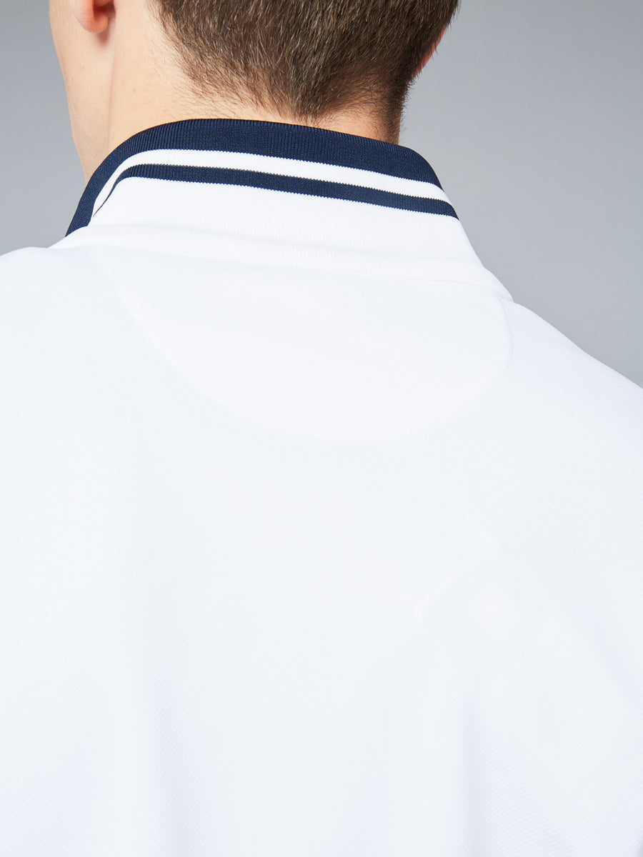 DAMARINDO SWEATER ARCHIVIO - WHITE/NAVY