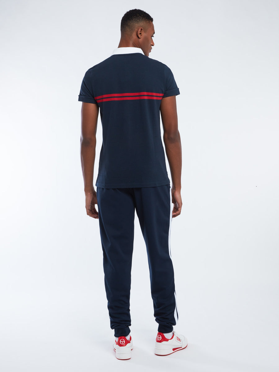 Supermac Polo Archivio - NAVY/RED