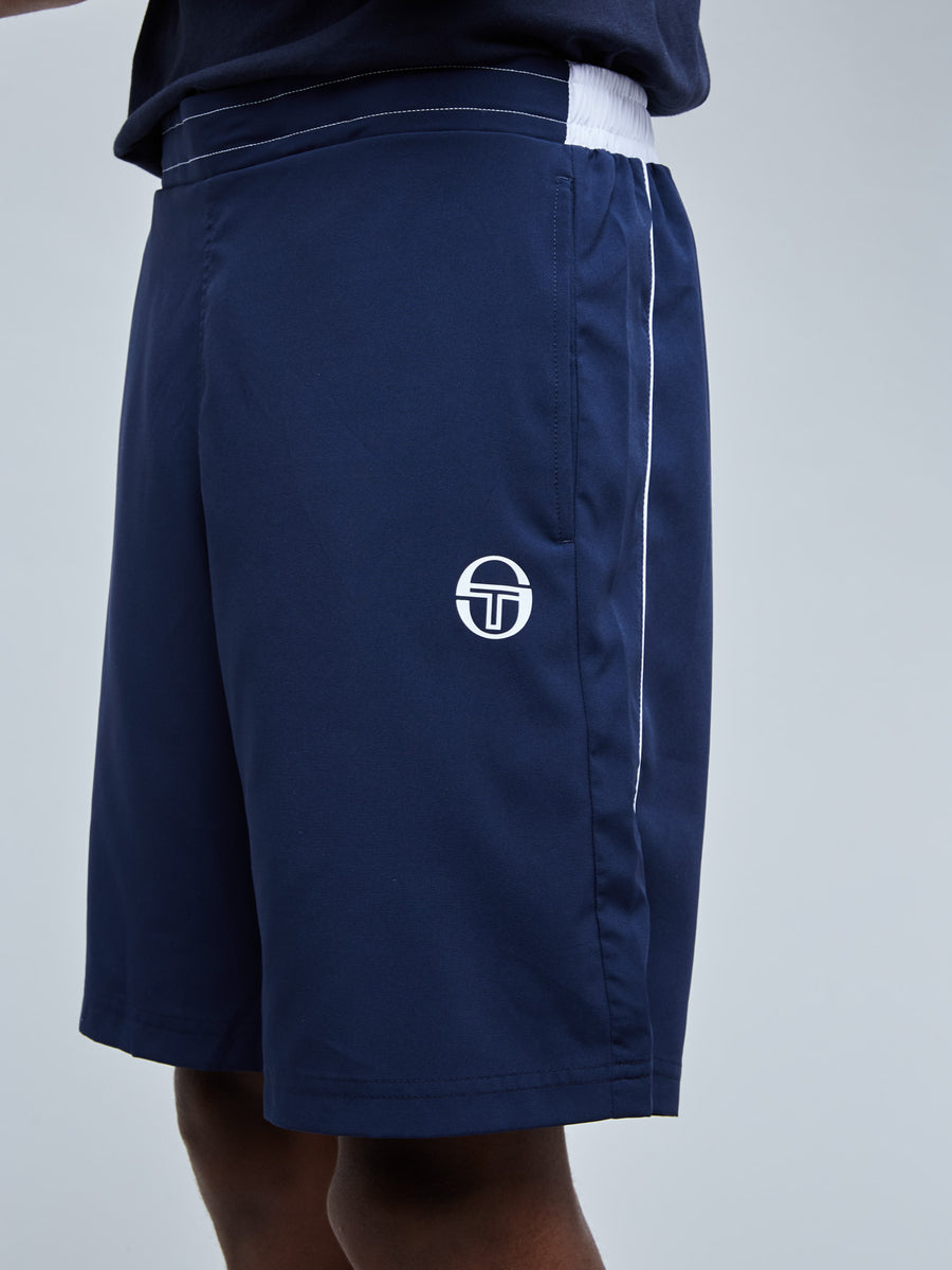 CLUB TECH SHORTS - NAVY/WHITE