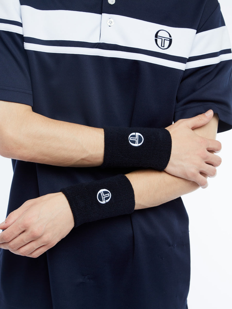 Tennis Wristband - NAVY/WHITE