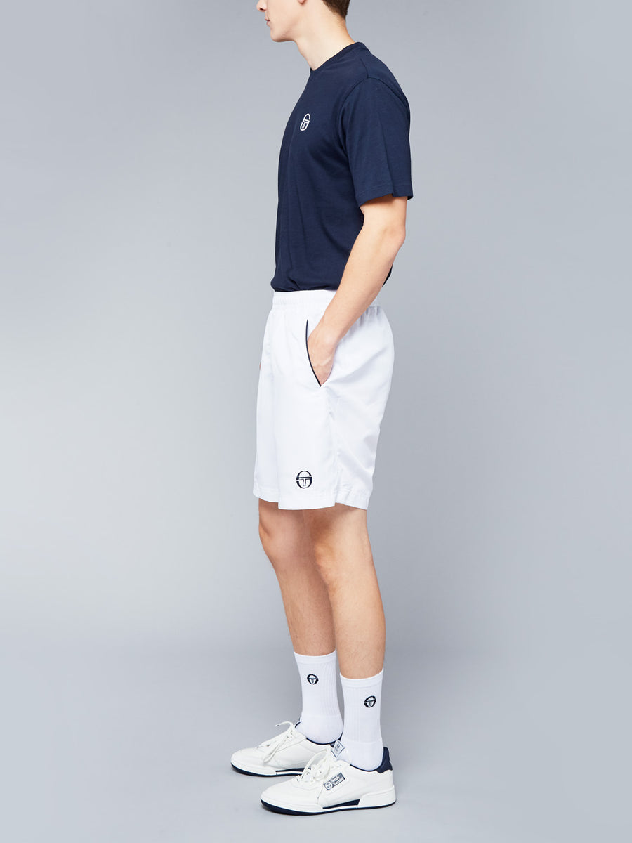 ROB SHORTS - WHITE/NAVY