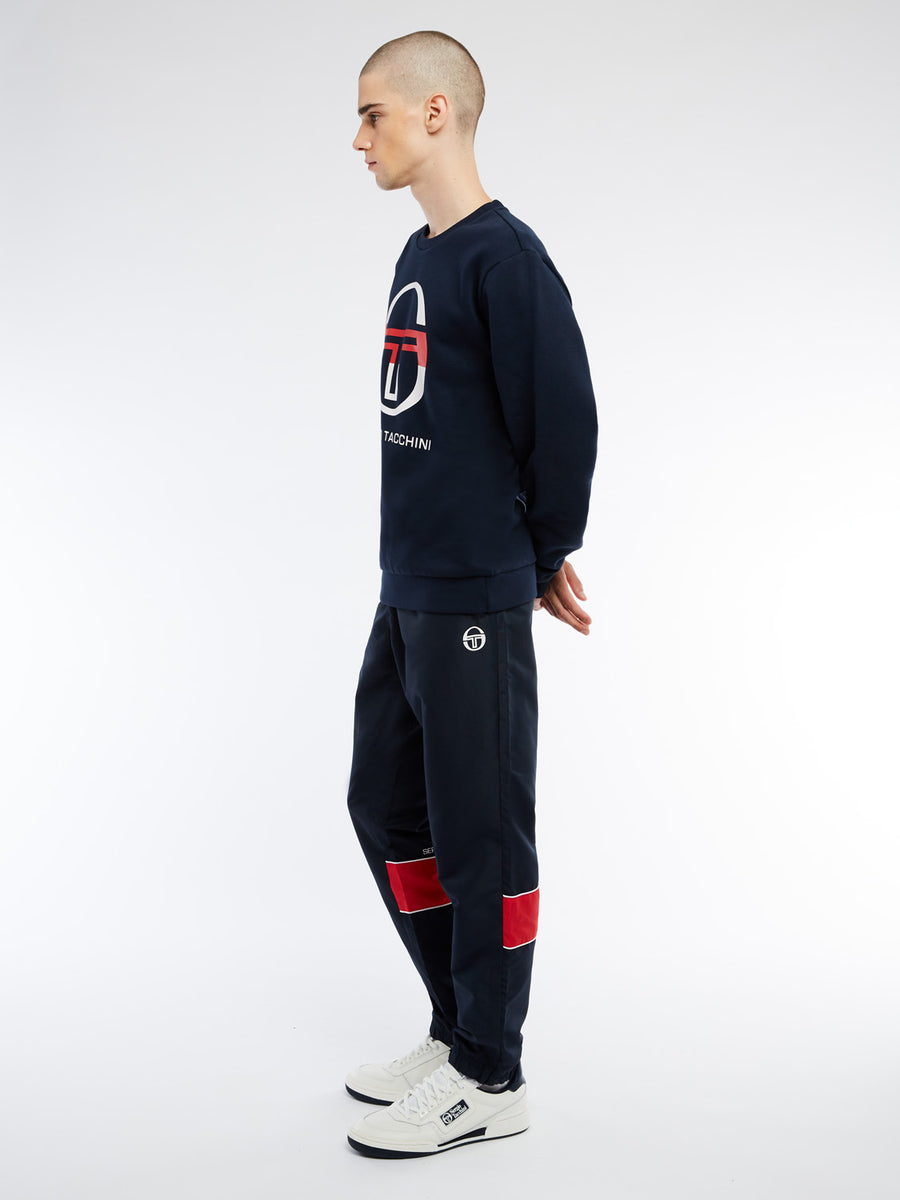 Zelda Sweatshirt - NAVY/WHITE/APPLE RED