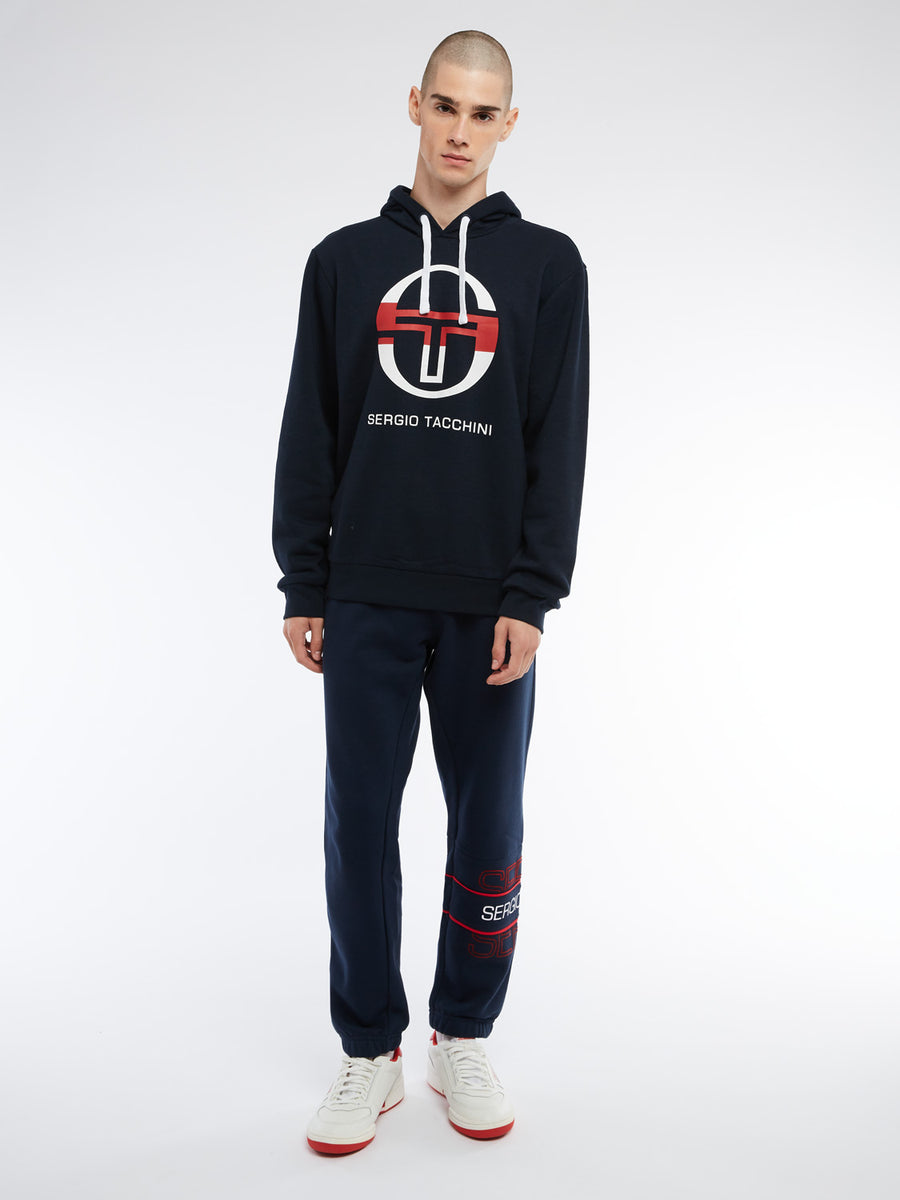 Zion Hoodie - NAVY/WHITE/APPLE RED