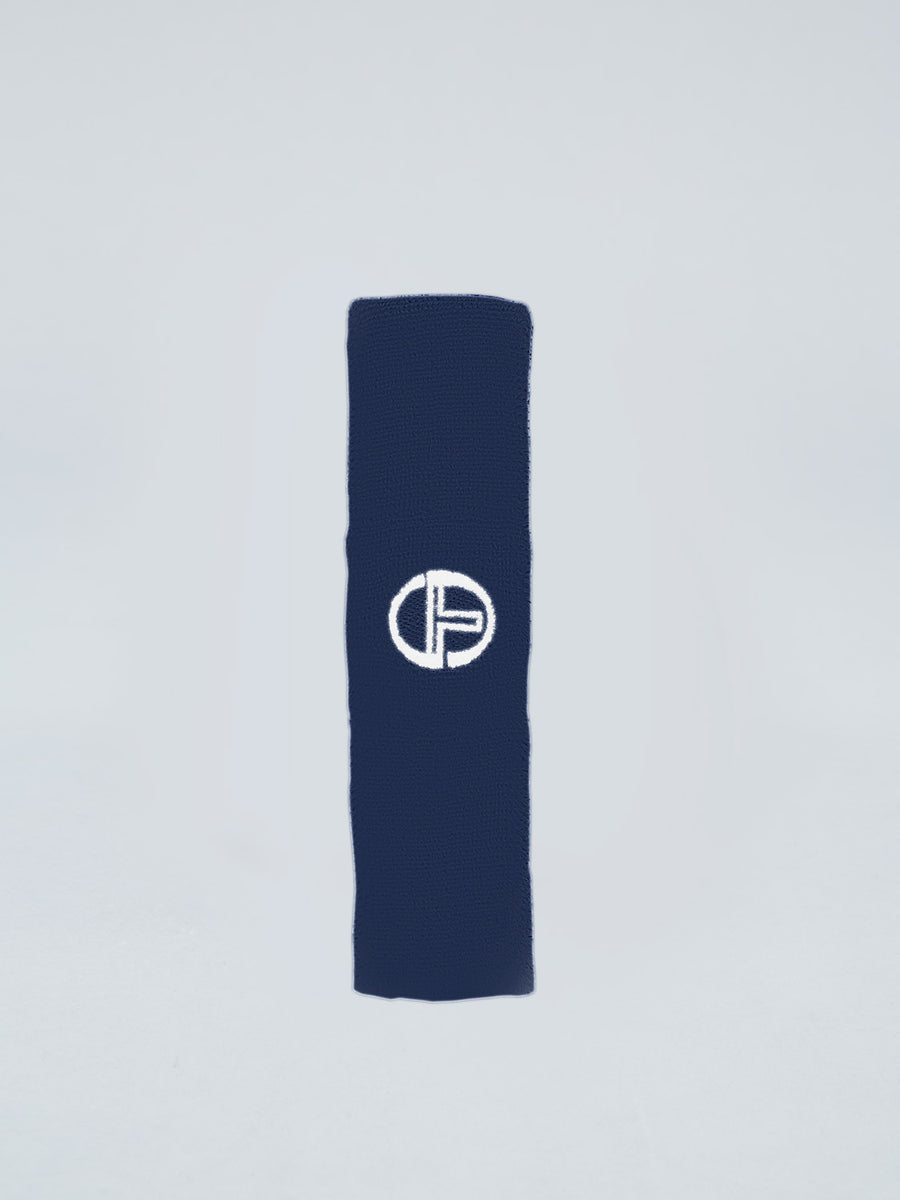 HEADBAND - NAVY/WHITE