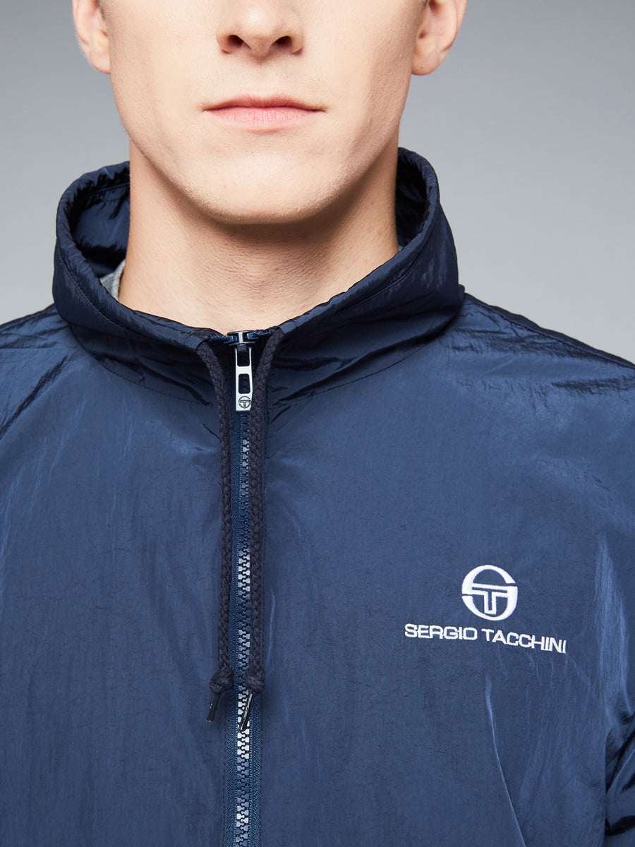 DEVONTE TRACKTOP - NAVY/WHITE