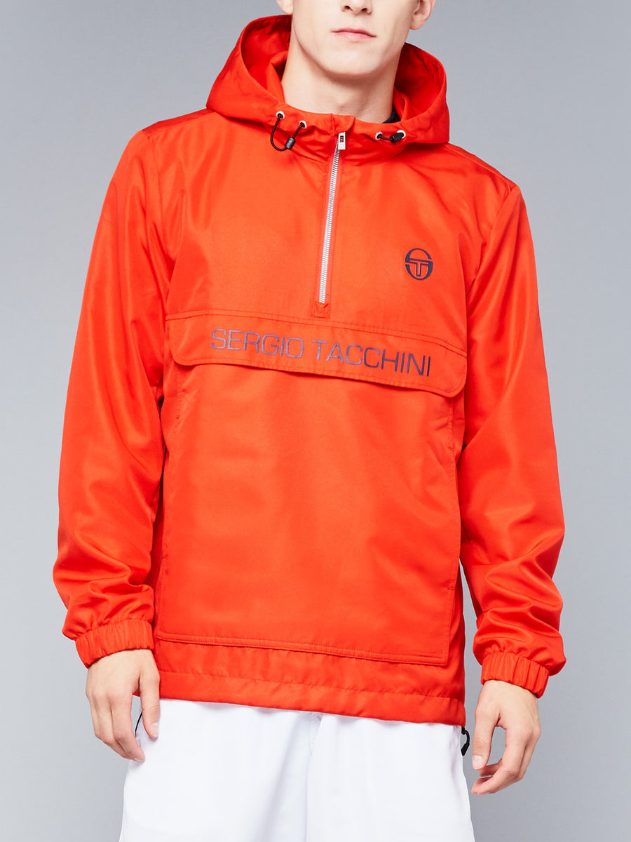 CINTO ANORAK - VINTAGE RED/NAVY