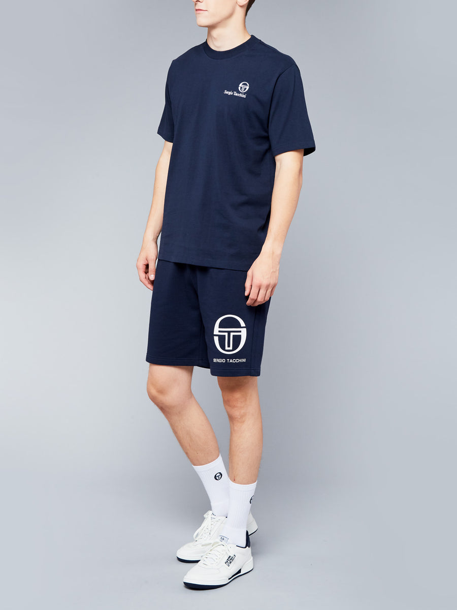 FELTON T-SHIRT - NAVY/WHITE