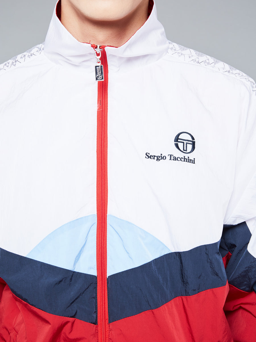 SOLENGO TRACKTOP ARCHIVIO - APPLE RED/SKY BLUE