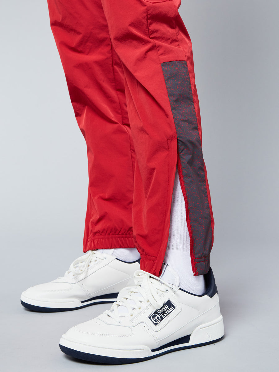 SOLENGO PANTS ARCHIVIO - APPLE RED/SKY BLUE