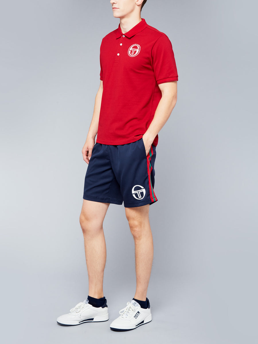 FAROE/MC/STAFF/POLO - APPLE RED/NAVY