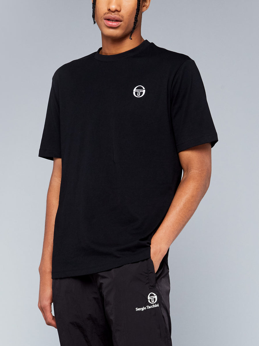 SERGIO SS20 T-SHIRT - BLACK/WHITE