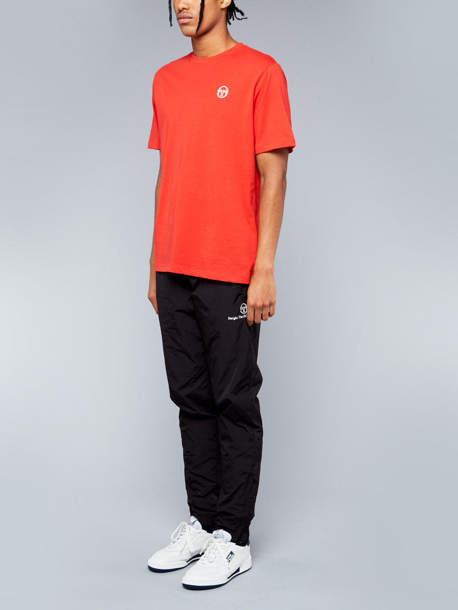 SERGIO SS20 T-SHIRT - VINTAGE RED/WHITE