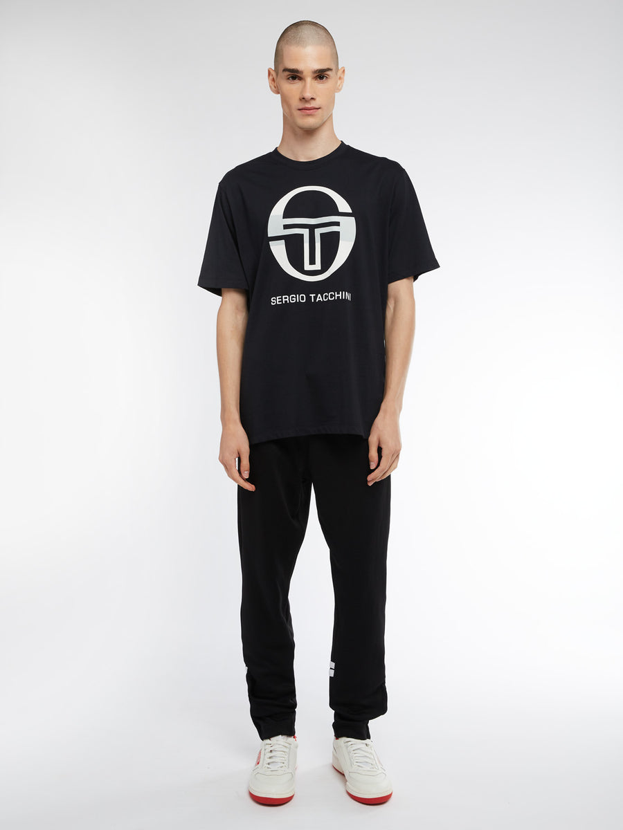 Iberis T-Shirt - BLACK/WHITE/ASH GREY