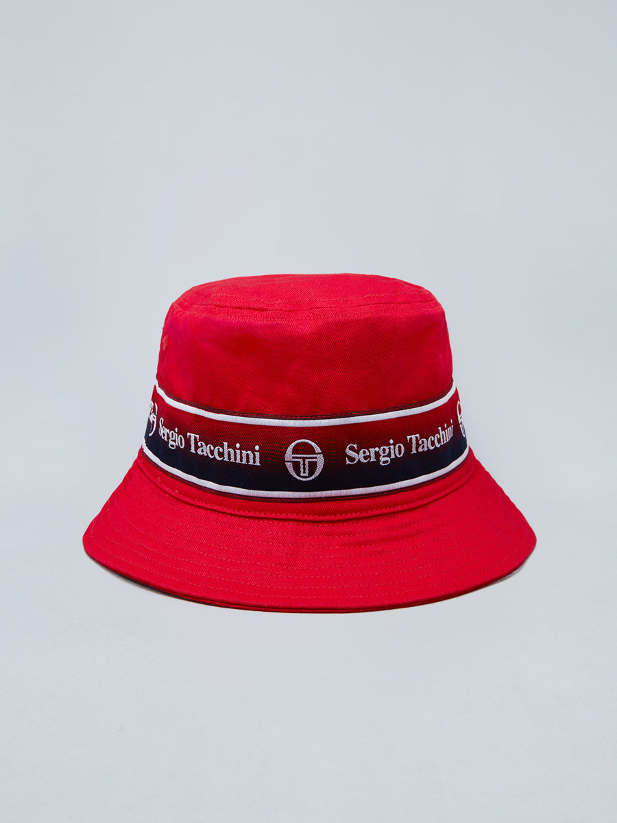 FIVO BUCKET HAT - VINTAGE RED