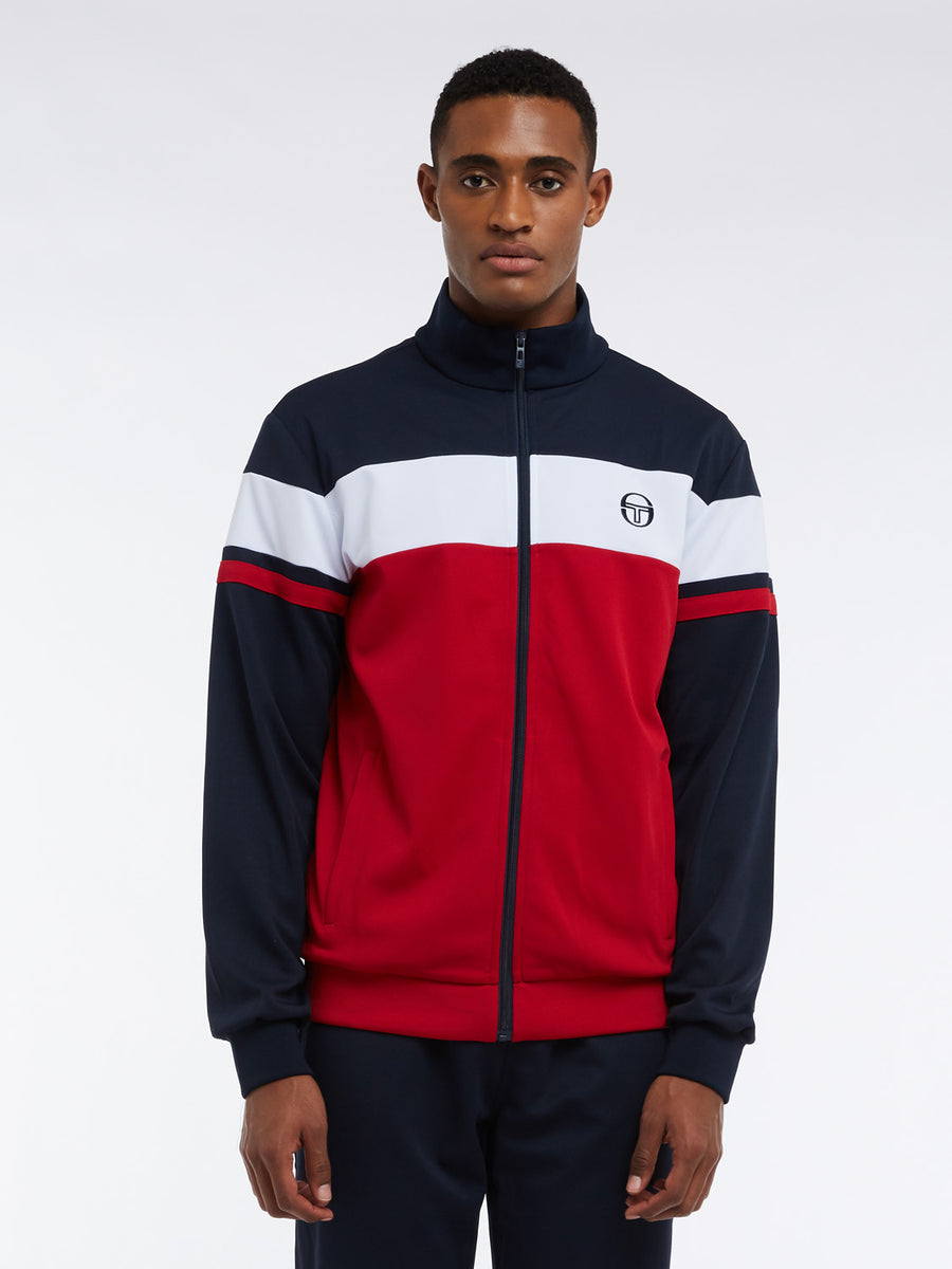 Bref Tracksuit - NAVY/APPLE RED