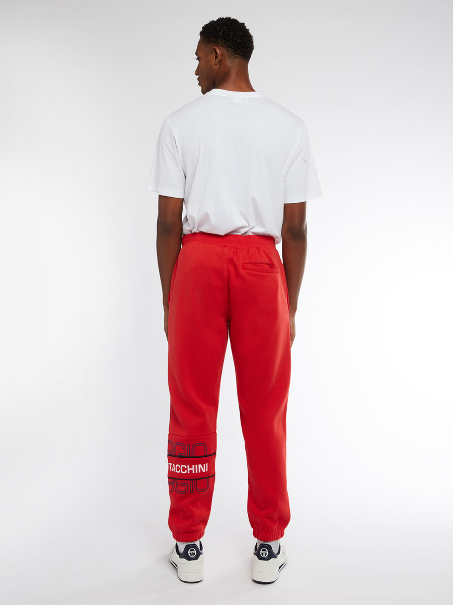 Blink Sweatpants - RED/NAVY