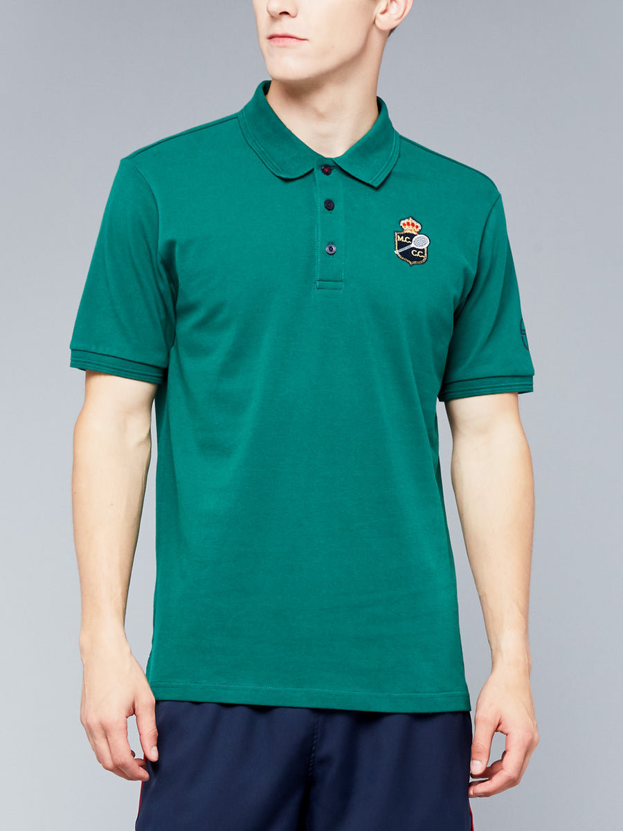FANCHER/MC/MCH POLO - EVERGREEN/NAVY