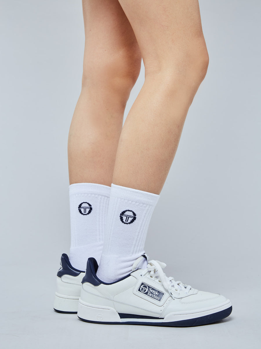 NEW YOUNG LINE SNEAKER WOMEN - WHITE/NAVY