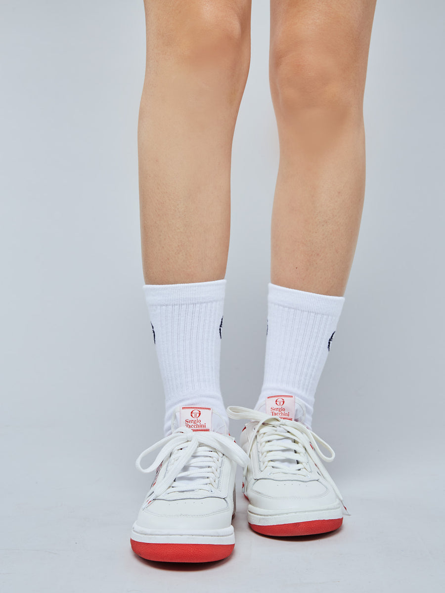 NEW YOUNG LINE SNEAKER WOMEN - WHITE/RED