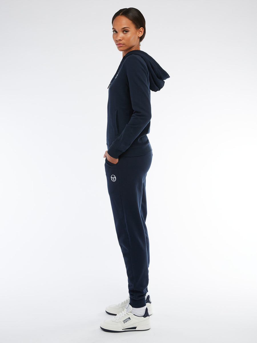 Ella Sweatpants - NAVY/WHITE