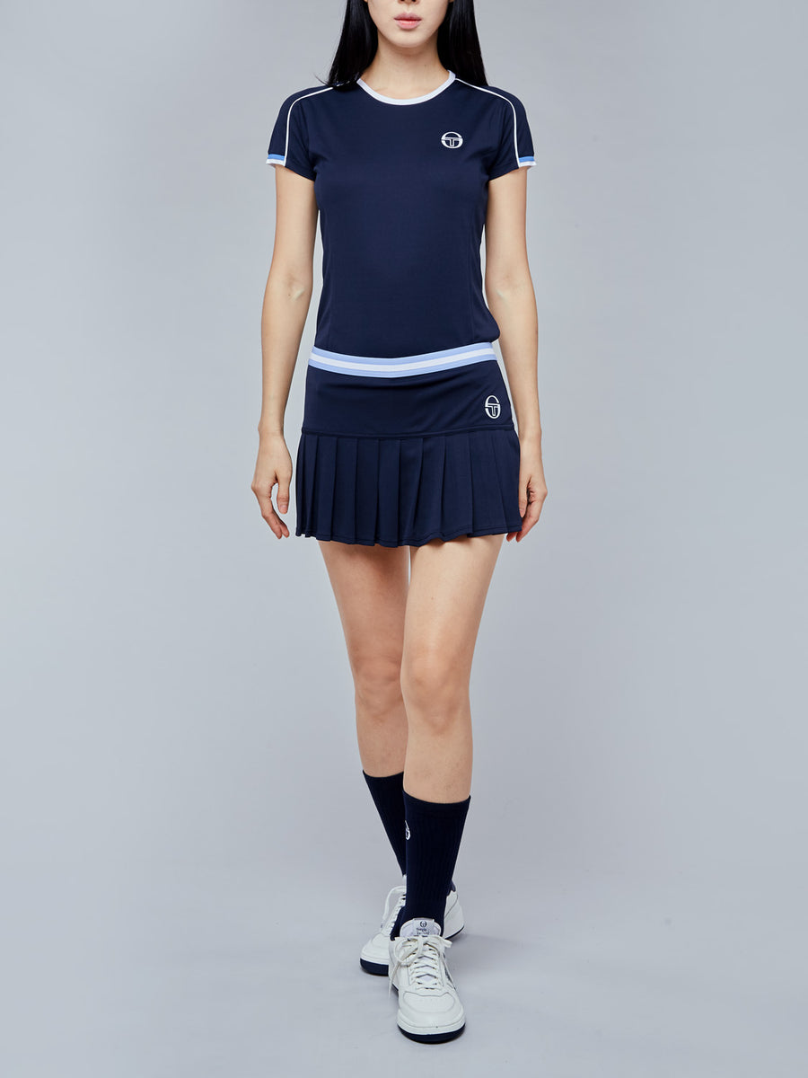 PLIAGE SKORT - NAVY/WHITE