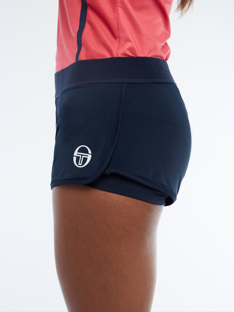 Ella Shorts - NAVY/WHITE