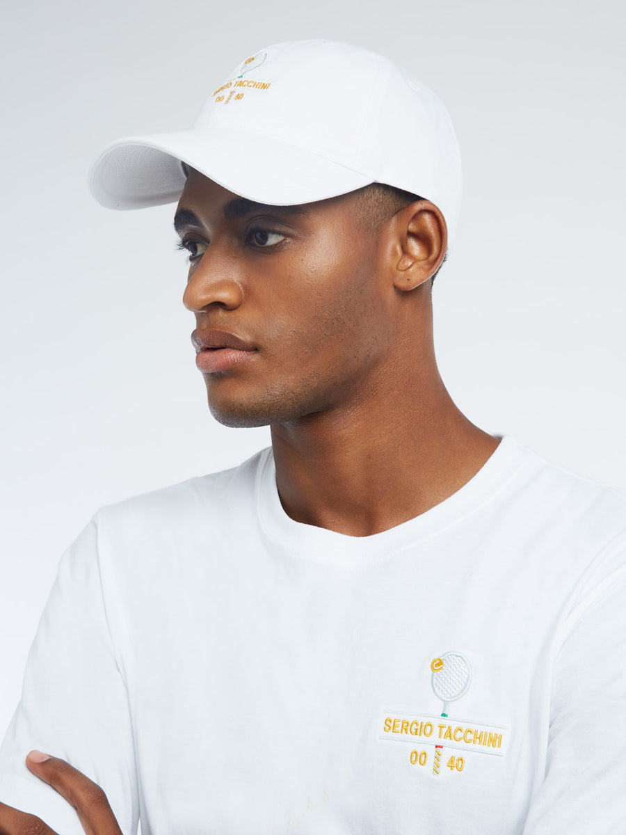 LOVE FORTY CAP - WHITE