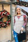Home For The Holidays Raglan Top
