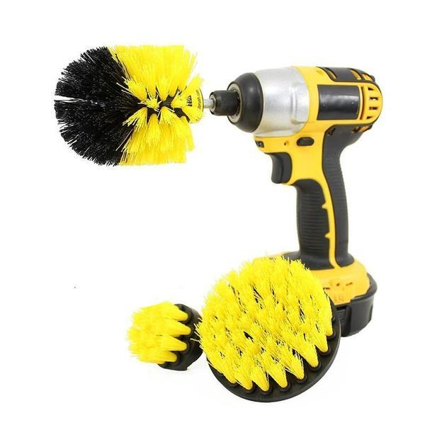 HEAVY DUTY POWER BRUSH SET