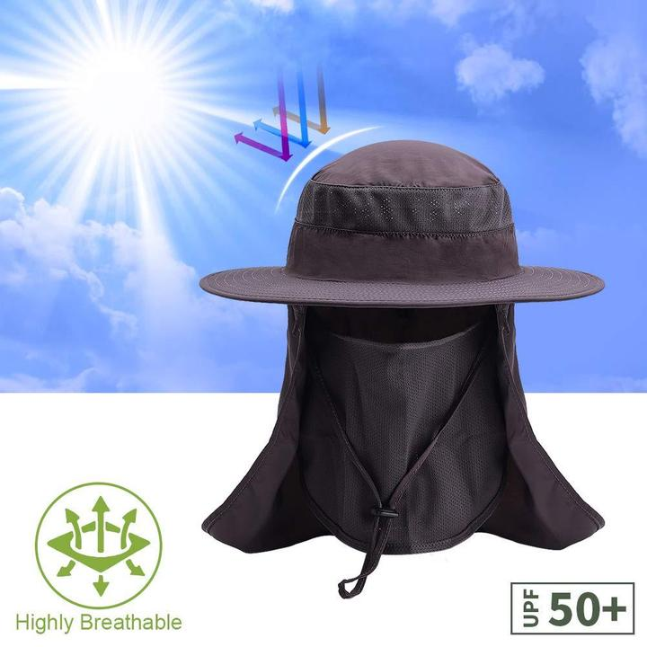 OUTDOOR SUNHAT-(Shape-able, Crush-able, Fold-able, Ultra Wind Resistant)