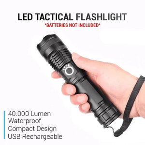 Extremely Bright High Lumen Tactical Flashlight