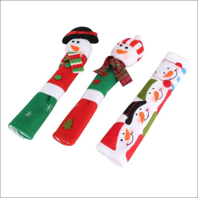 Snowman Covers For Fridge Just For You - For Microwave - Pendant & Drop Ornaments