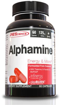 PEScience Alphamine Capsules - Energy & Thermogenic