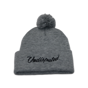 GAME DAY Beanie - Grey w/ POM